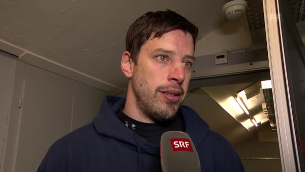 Video «Eishockey: Interview mit Cyrill Geyer» abspielen