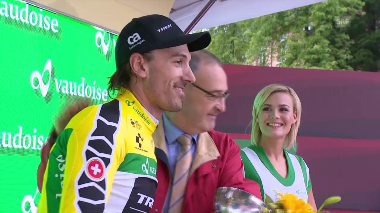 Cancellara triumphiert beim TdS-Auftakt-Zeitfahren