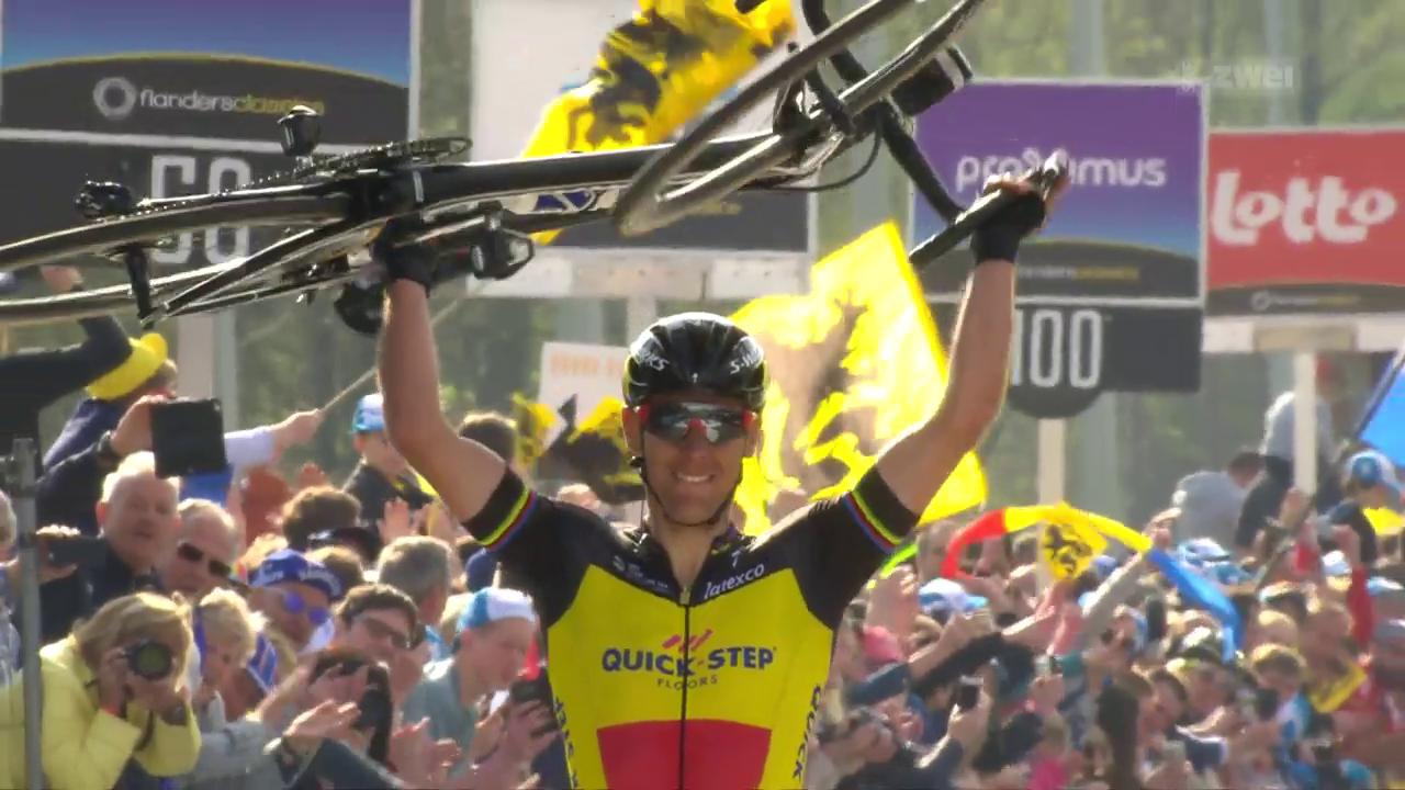 Heimsieg für Gilbert an der Flandern-Rundfahrt