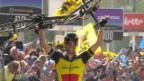 Video «Heimsieg für Gilbert an der Flandern-Rundfahrt» abspielen