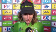 Video «Bern-Sieger Sagan: «Ich glaube an das Schicksal»» abspielen