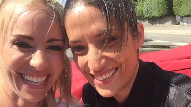 «G&G Weekend spezial» in der Cabriolet Limo mit Melanie Winiger