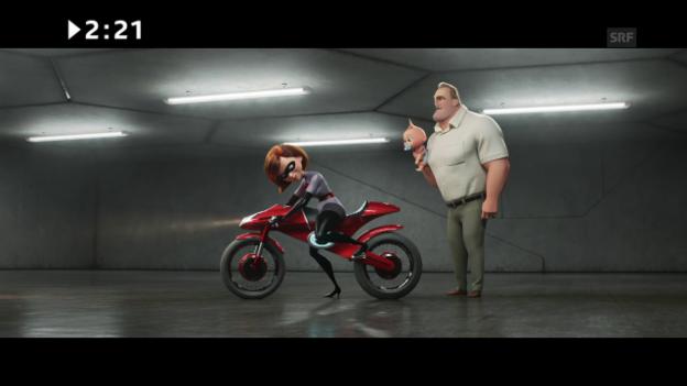 Video «Kinostart: «Incredibles 2»» abspielen