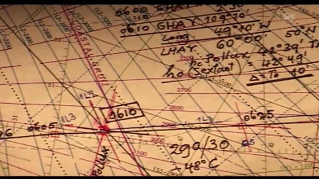 Ausschnitt aus «Der letzte Navigator» - von Ueli Meier