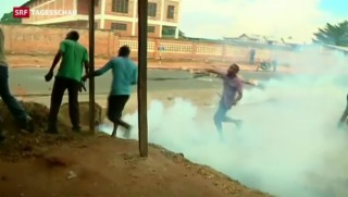 Video «Burundi: Präsident bemüht sich um Normalität» abspielen