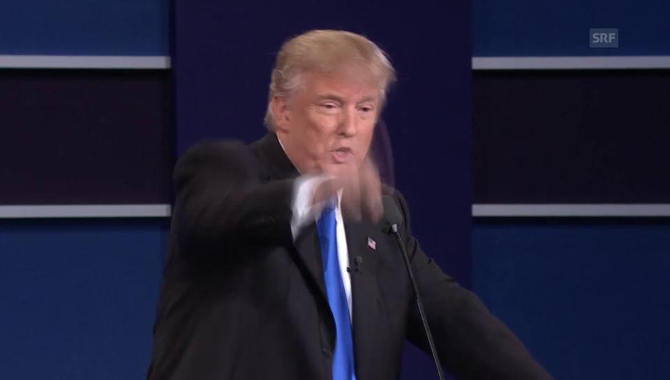 Trump: «Veröffentliche Steuererklärung unter Bedingung»