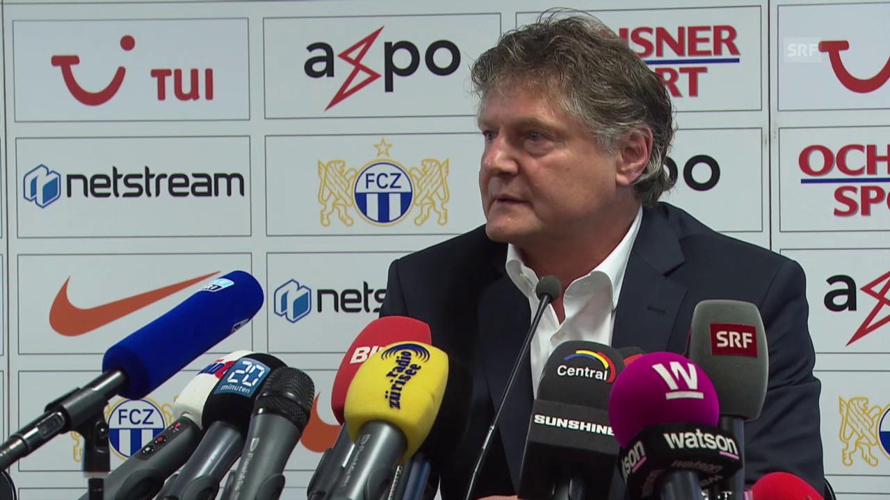 Fussball: FCZ-Medienkonferenz mit Ancillo Canepa