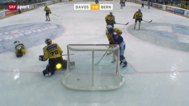 Video «Eishockey: Davos-Bern» abspielen