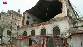 Video «24 Millionen Franken für Wiederaufbau» abspielen