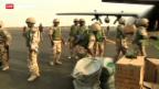 Video «Hilfe im Kampf gegen Rebellen» abspielen