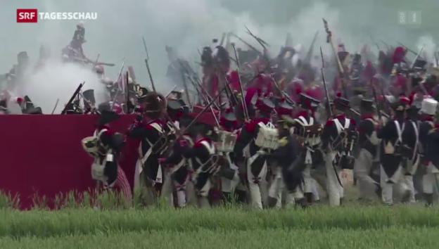 Video «Historische Schlacht von Waterloo» abspielen