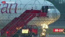 Video «Ausnahme-Zustand am Flughafen Genf» abspielen