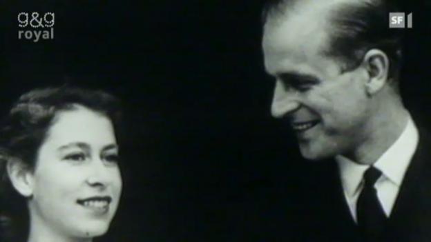 Video «Queen und Philip feiern Eiserne Hochzeit» abspielen