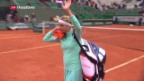 Video «Bacsinszky out» abspielen
