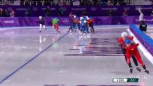 Link öffnet eine Lightbox. Video Zusammenfassung Eisschnelllauf Männer abspielen