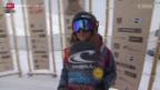 Video «Snowboard: European Open in Laax, Halfpipe-Wettkampf der Frauen» abspielen