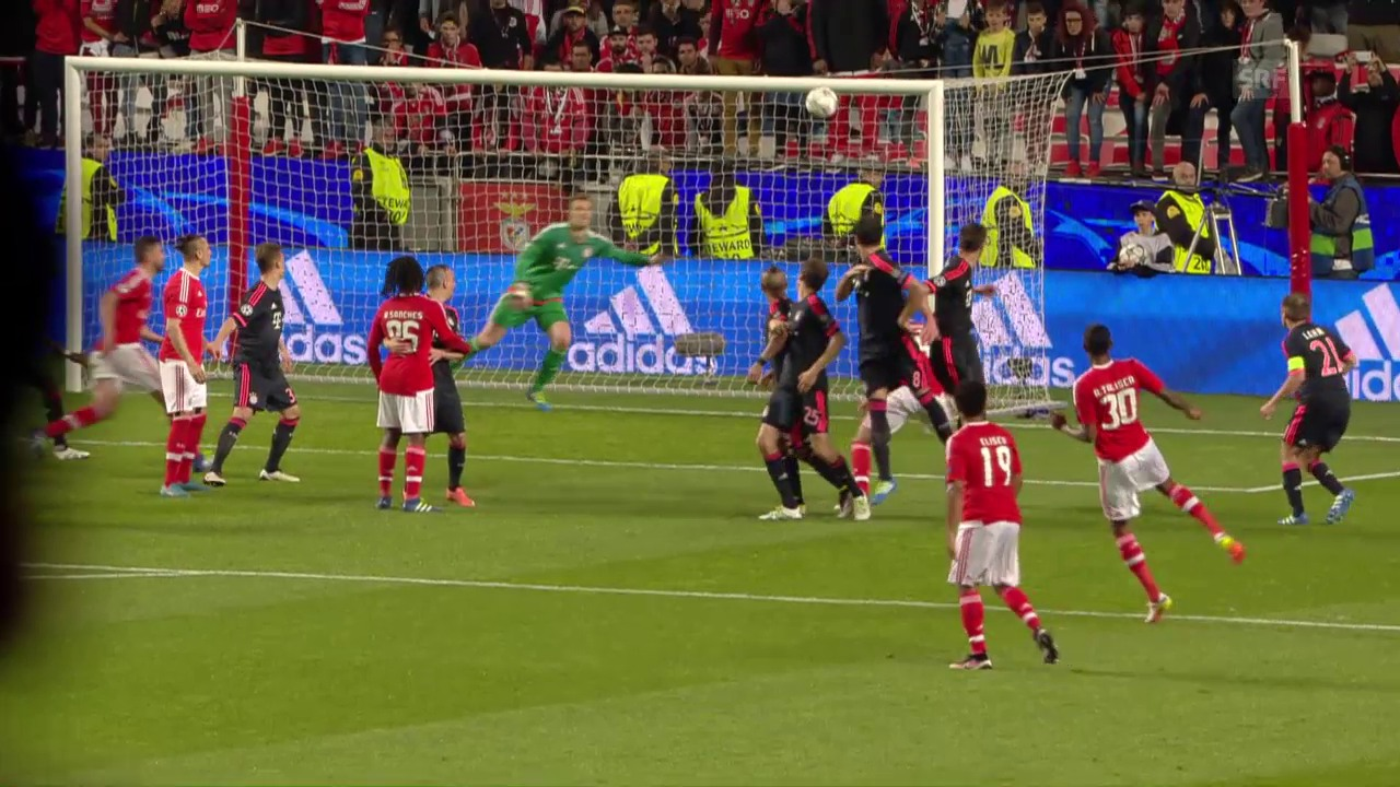 Benficas Talisca trifft sehenswert zum 2:2