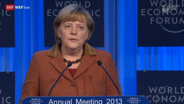 Video «Angela Merkel über Ungleichgewichte in Europa» abspielen
