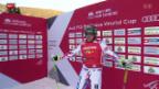 Video «Skicross: Weltcup in Innichen» abspielen