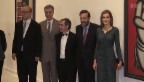 Video «Königin Letizia eröffnet Ausstellung mit Basler Picassos» abspielen
