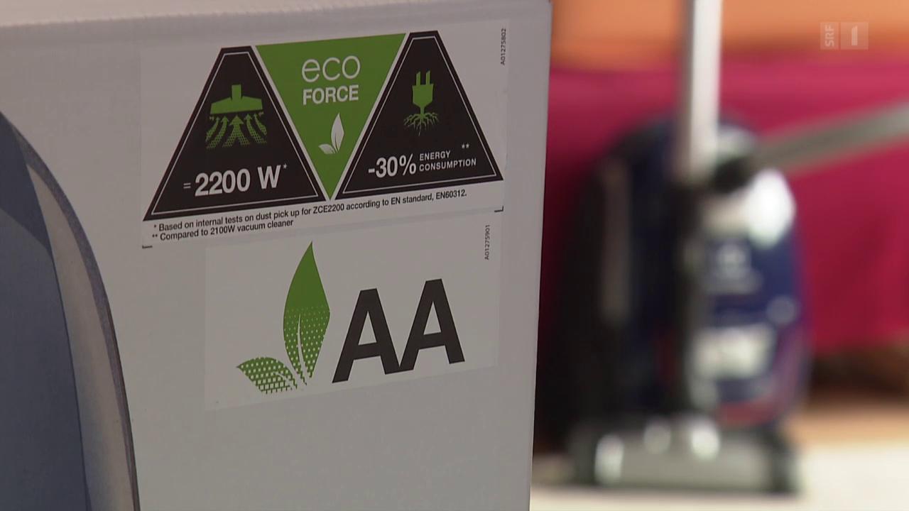 Verkappte Stromschleuder: Electrolux täuscht mit Energielabel