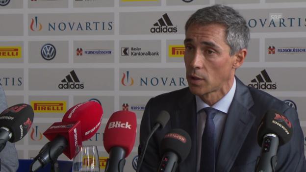 Video «Fussball: Medienkonferenz mit Paulo Sousa» abspielen