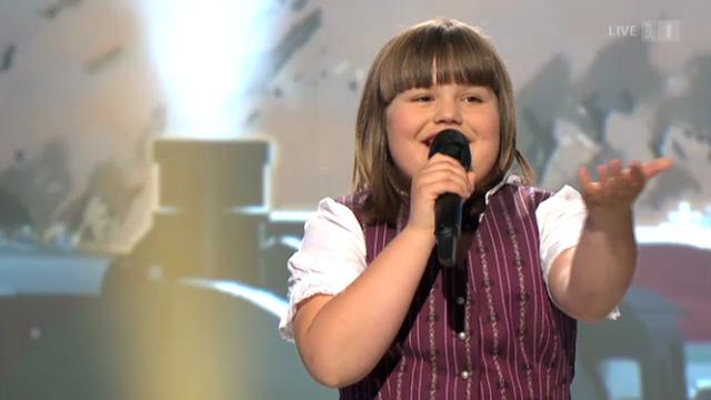 Chantal Häni mit dem Siegerlied «Heiweh»