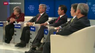 Video «Nur ein Sechstel der WEF-Teilnehmer sind Frauen » abspielen