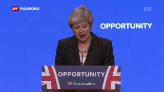 Video «Theresa May verteidigt ihren Brexit-Kurs » abspielen