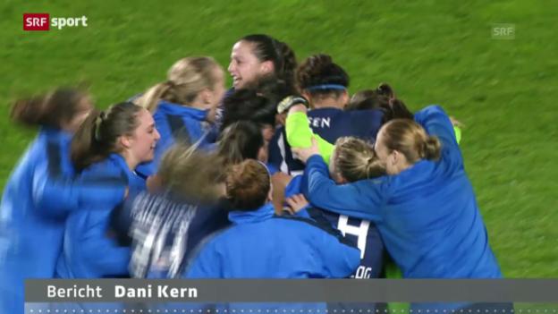 Video «FCZ Frauen im CL-Achtelfinal («sportaktuell»)» abspielen