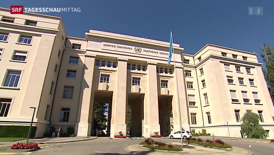 Kostspielige Sanierung des UNO-Gebäudes in Genf