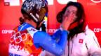 Video «Momente zum Schmunzeln in Sotschi» abspielen