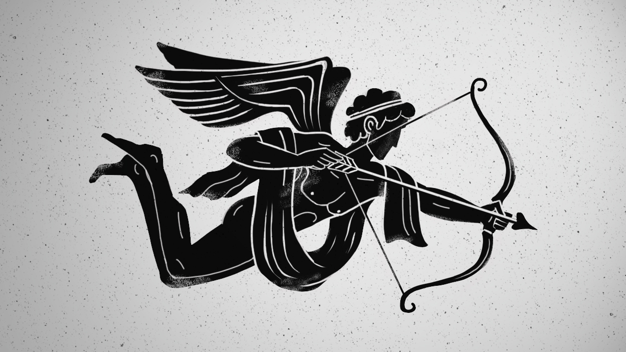 Sokrates und Xanthippe - Eros