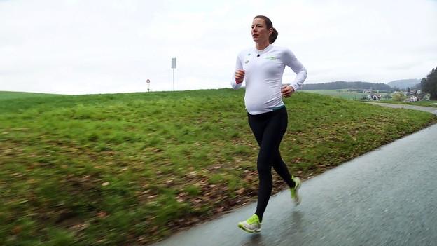 Schwangerschaft und Sport – So macht es Nicola Spirig