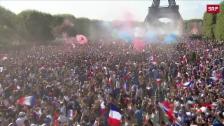 Link öffnet eine Lightbox. Video Frankreich siegt an der WM 2018 abspielen