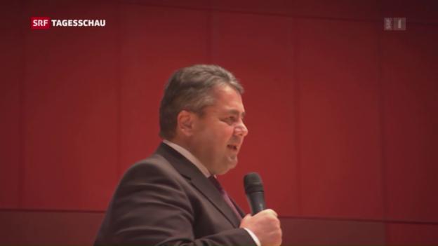 Video «Gabriel verzichtet – Schulz übernimmt» abspielen