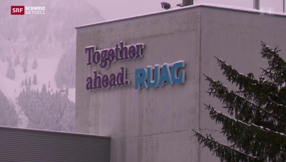 Rüstungskonzern RUAG schliesst Standort Brunnen