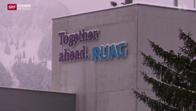 Video «Rüstungskonzern RUAG schliesst Standort Brunnen» abspielen
