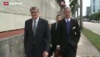 Video «Raoul Weil, ehemaliger UBS-Chef, steht vor Gericht in Florida» abspielen
