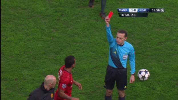 Video «Die Rote Karte gegen Nani («sportlive»)» abspielen