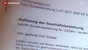 Video «Bankkonten von Auslandschweizern gekündigt» abspielen