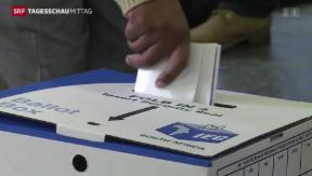 Video «Südafrika wählt neues Parlament» abspielen