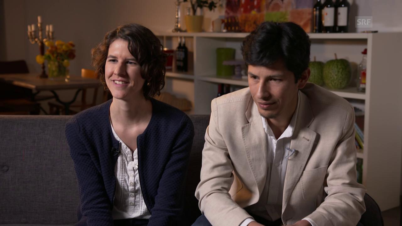 Lea und Rafael: «In der Schweiz braucht man einen Berufsabschluss.»