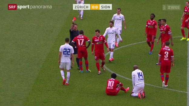 Video «Zürich kassiert Heimniederlage gegen Sion» abspielen