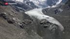 Video «Gletscher profitieren von miesem Sommerwetter» abspielen