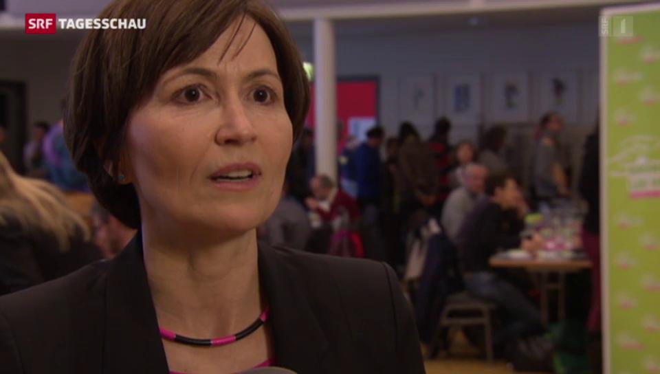 Grünen-Co-Präsidentin Rytz zum Wechselkurs