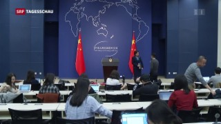 Video «China reagiert mit Zöllen auf Trumps Zölle» abspielen