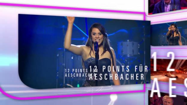 Video «Aeschbacher-Spezial zum ESC» abspielen