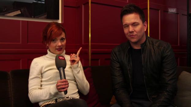 Video «Final-Favoriten und Prognosen von Rosanna und Sven Epiney» abspielen