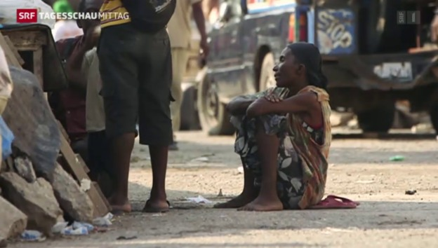 Video «Haiti kommt nicht zur Ruhe» abspielen
